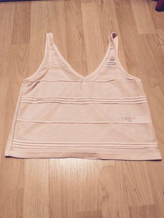Topshop sleeveless top