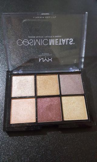 Nyx eyeshadow cosmic metals