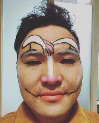 🚚 Rabbit makeup