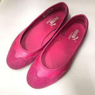 PUMA 粉紅色休閒鞋 娃娃鞋 便鞋