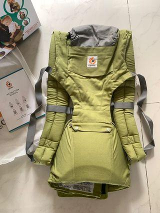 Baby Carrier with waistband seat