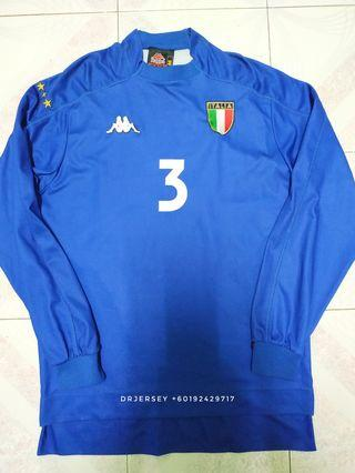 Italy jersey home kit 1999 M long sleeve