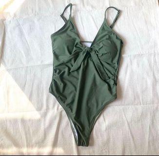 Olive swimsuit
