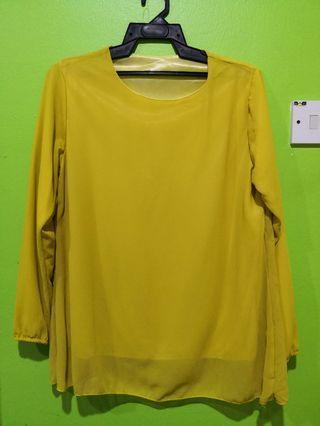 Mustard Top Size M
