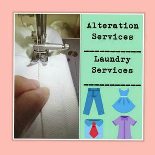 Alteration and Laundry Services