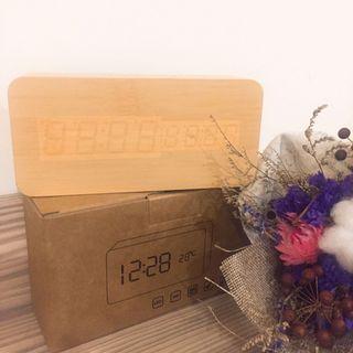 [生活倉庫]木質簡約時鐘/鬧鐘