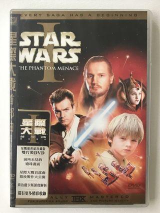 🚚 Star Wars 首部曲DVD