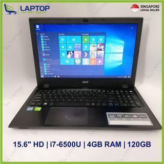 ACER Aspire F5-572G-70FJ (i7-6/4GB/120GB) [Premium Preowned]