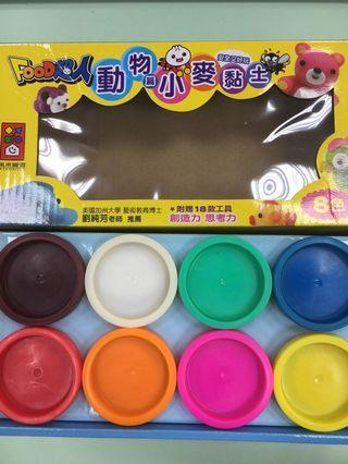 風車food超人小麥黏土(動物篇)