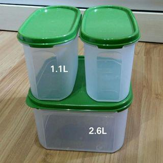 Container set  (3pcs) #RayaHome
