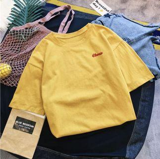 Instock Yellow Cheese Shirt