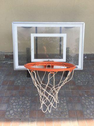 Fibre glass baskets ball ring