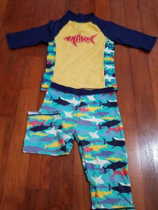 Baby Kids swimsuit mother care for 5 to 6 years