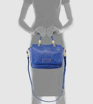 Marc jacobs blue too hot to handle top handle flap bag (Sicily inspired)