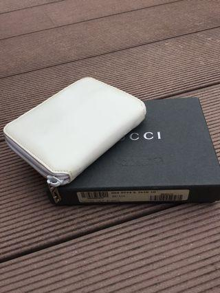 Gucci Vintage White Wallet