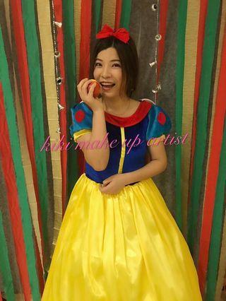 🚚 Snow white theme makeup
