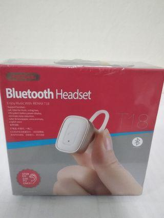 Remax T18 Bluetooth headset
