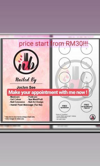Lowest price in town! Manicure