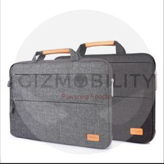 Laptop Bag WIWU Laptop Nylon Smart Sleeve Bag Case With Stand