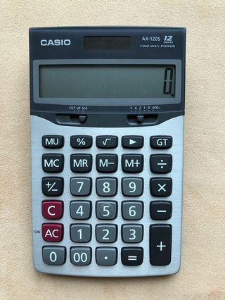 Casio AX-120S Desk Calculator (12-Digits)