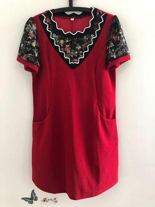 Red Tunic (Brand new)