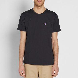 Champion X Beams Vertical Zip Crewneck T-Shirt Black