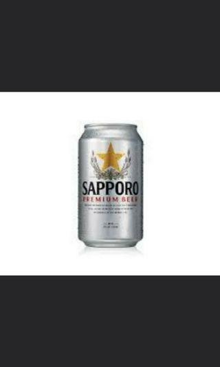 [CLEARANCE]Sapporo Premium Beer Carton 24/pack.