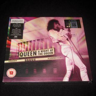 CD DVD Queen. A night at the Odeon. 2 DISCS. Freddie Mercury. SEALED