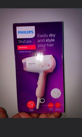 Philips Hair Dryer 1000w & Shaver PQ206 (all for 1 price)