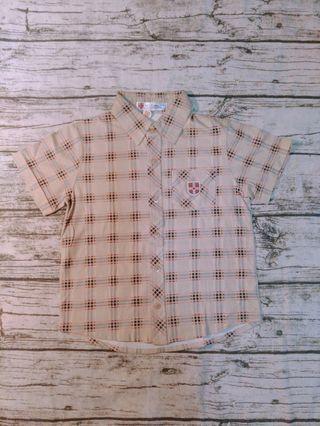 🚚 UNIVERSITY OF CAMBRIDGE 襯衫/尺寸:120