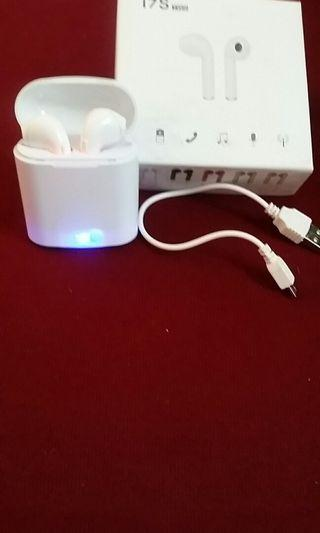 Wireless Earphones (i7S TWS) *White Colour*