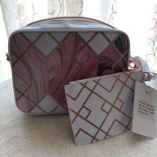 Ted Baker Aamberr Sea of Clouds Camera Bag