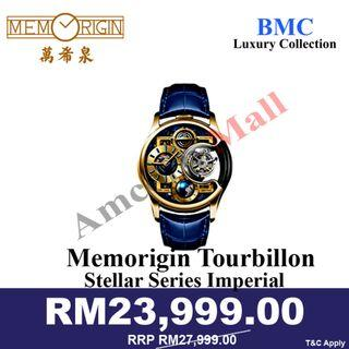 Memorigin Watch Tourbillon Imperial Stellar Series Gold