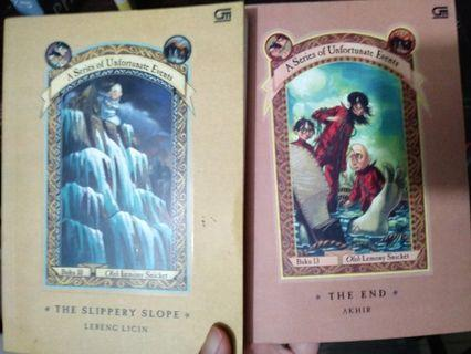 Lemony Snicket Series of Unfortunate Events no. 10&13
