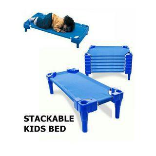 Stackable kids nursery bed