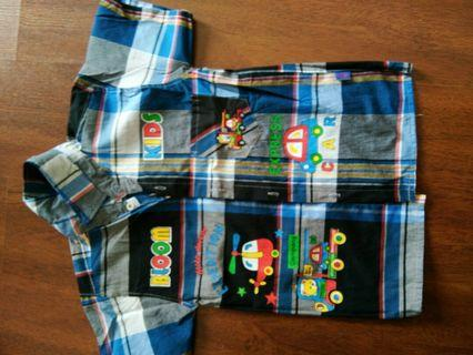 #BAPAU Bundling 3pcs Baju anak laki-laki blm pernah dipakai
