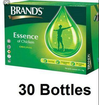 🚚 BRANDS essence of chicken original 30 bottles