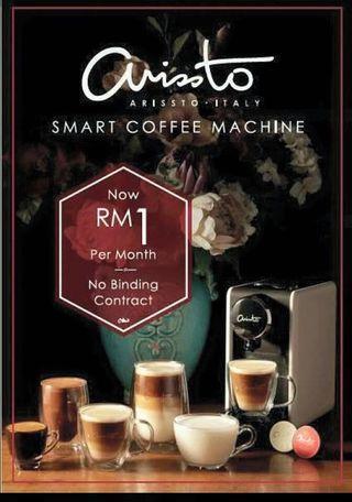 Arissto Smart Coffee Machine