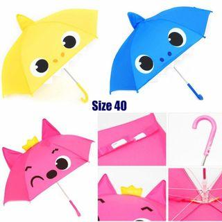 韓國🇰🇷直送Pink Fong & Baby Shark 3D立體小童雨傘☂