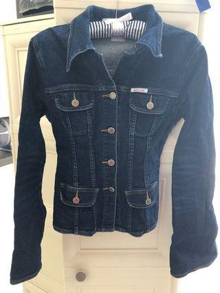Denim jacket Sass and Bide Sydney (high quality Aussie brand). Size S