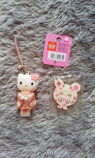 Gantungan Hello Kitty Ori Sanrio
