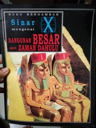 #BAPAU Buku Sinar X mengenai bangunan di zaman dahulu