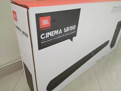 JBL: CINEMA SB150 2.1 CH Soundbar System(BNIB)