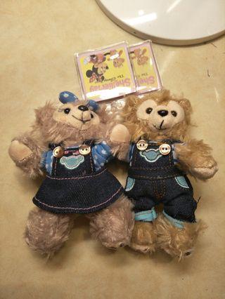 🚚 達菲熊和雪莉玫
