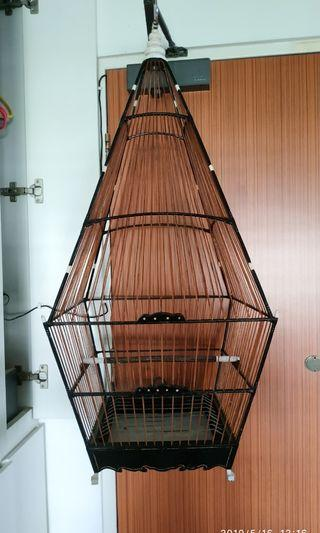 Jambul Cage + Bathing cage