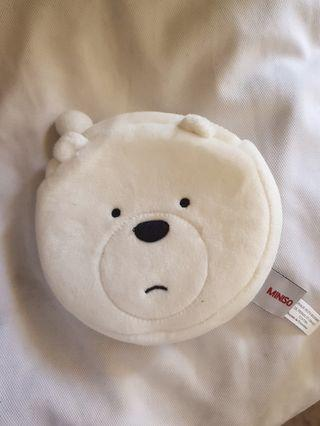 We Bare Bears cute coin holder