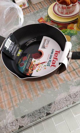 Tefal Frying Pan Deep Cooking Pot 28cm