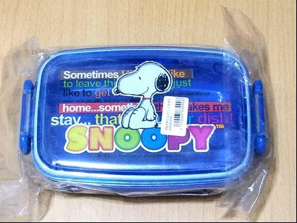 New💢Snoopy lunch box 全新史努比食物盒/ 餐盒#MTRtw #MTRssp #MTRmk #newbieMay19