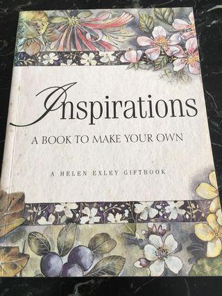 Inspirations : A Book to Make Your Own (A Helen Exley Giftbook)