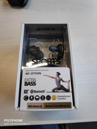 Sony Wireless Headphones WF SP 700N (Weekend Quick Sale)
